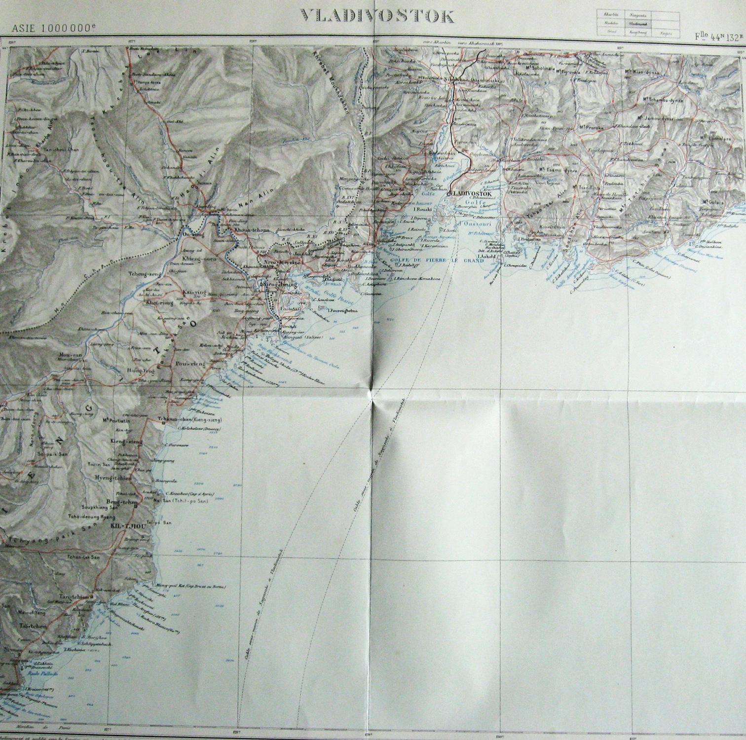 Asie au 1. 000. 000e : Vladivostok