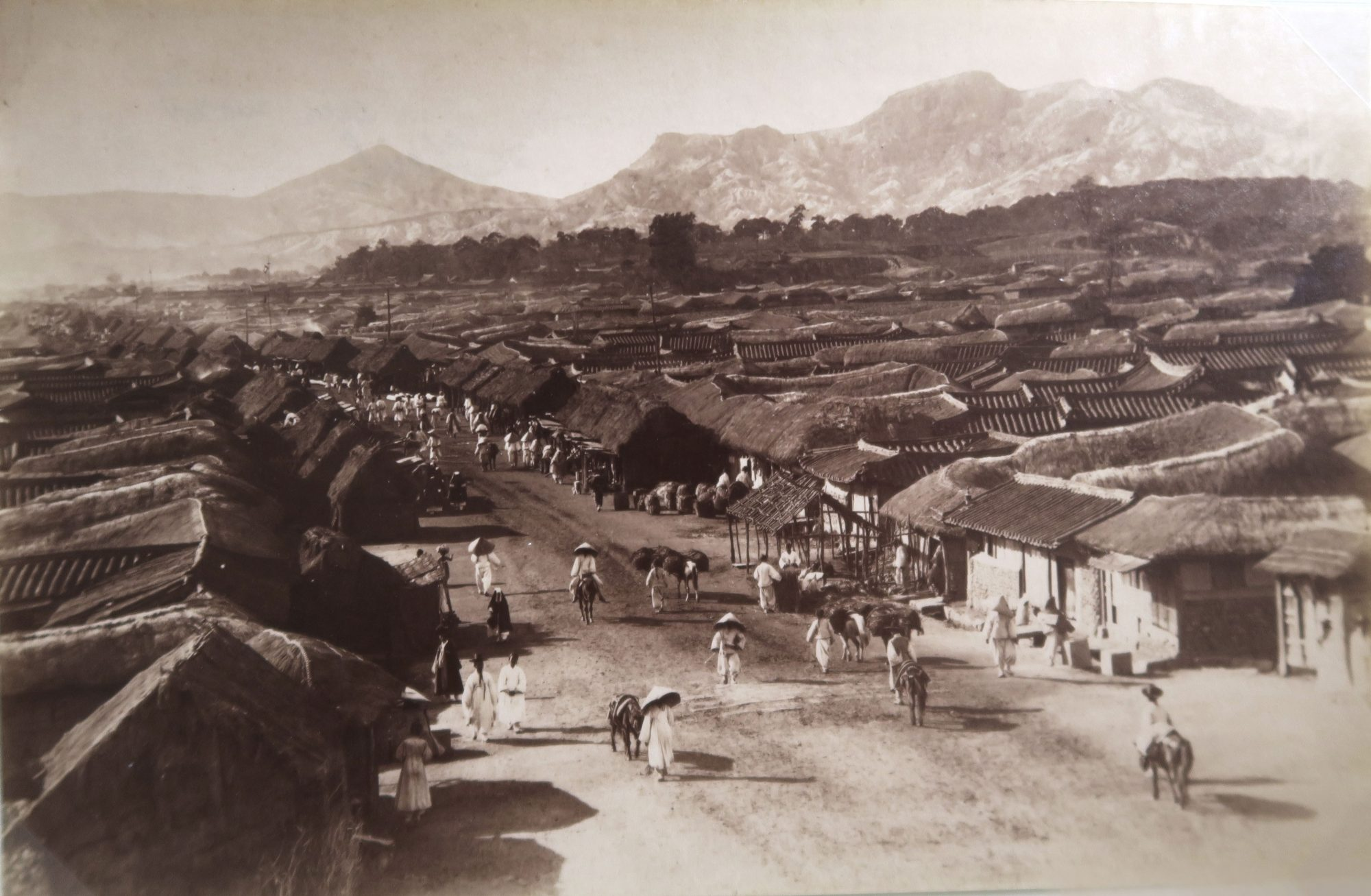 Seoul.1892-93. 4 pieces