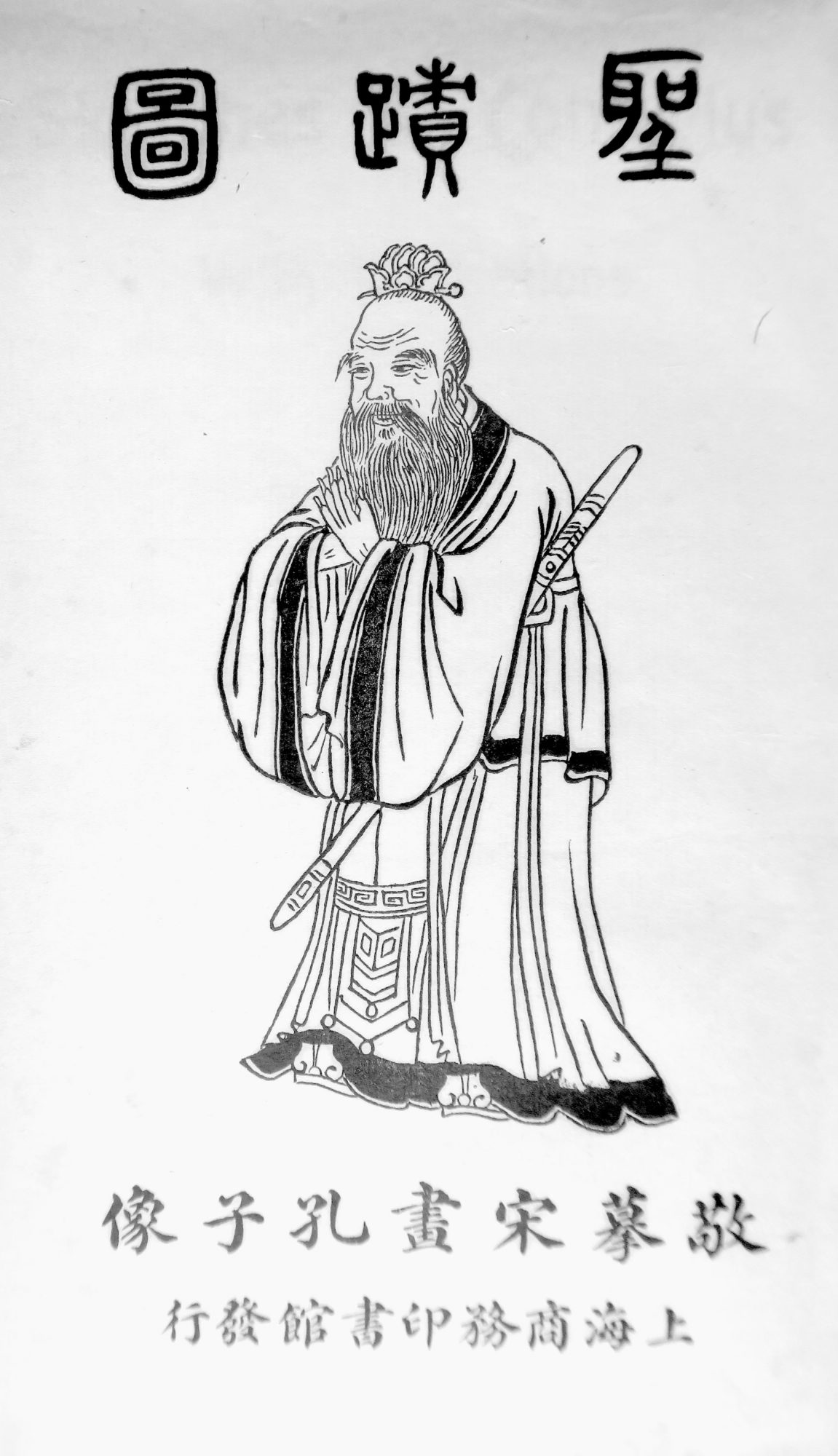 Sketches of Confucius.